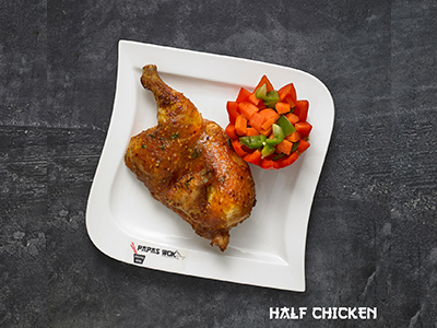 PAPAS PERI PERI CHICKEN (HALF)